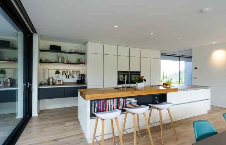 Contemporary kitchen, O'Driscoll Kitchens